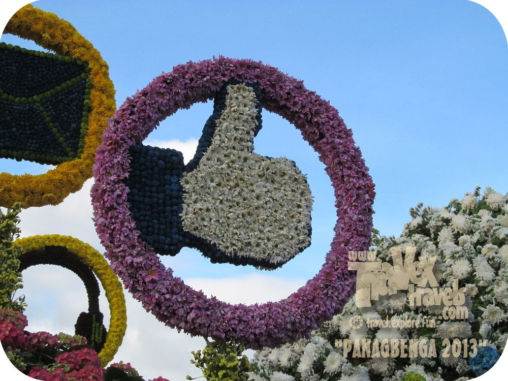 Baguio City flower festival or Panagbenga via http