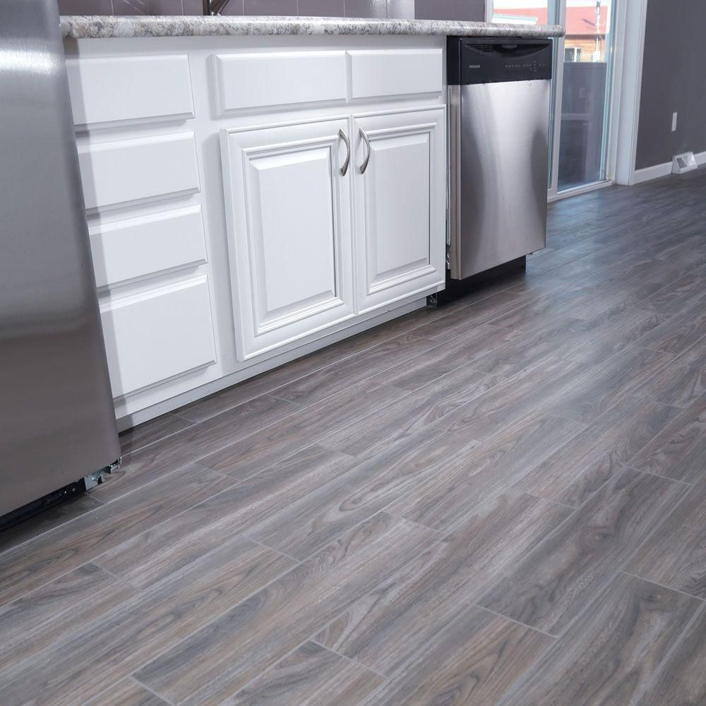 Best Snapstone Weathered Grey 6 In X 24 In Porcelain Floor 640 x 480