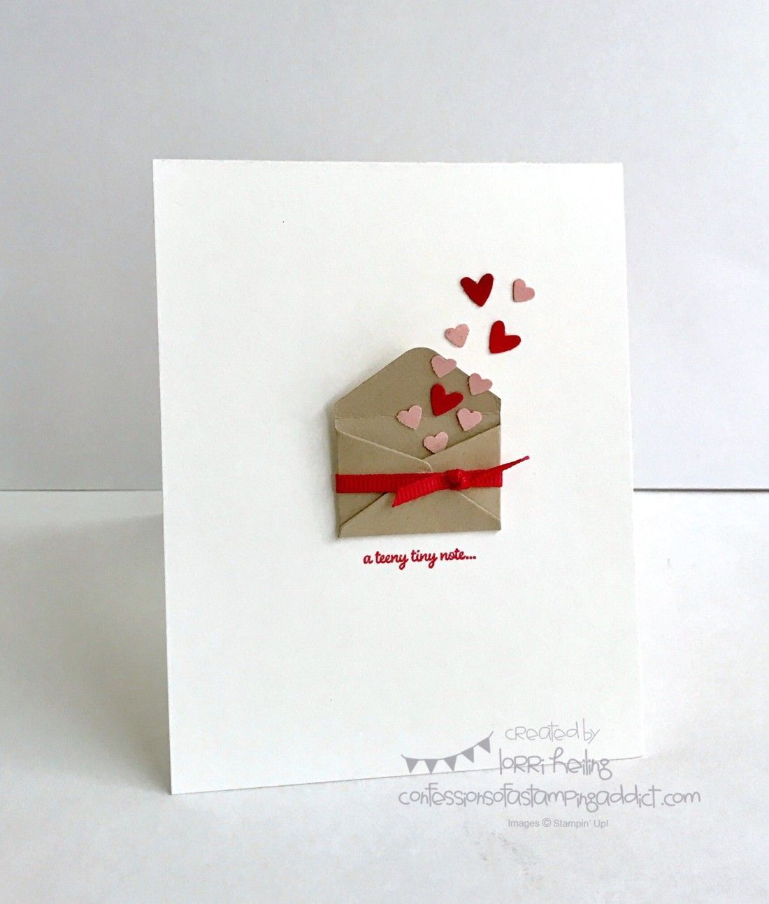 Simple Little Valentine Diy Gifys Pinterest Cards Card Ideas