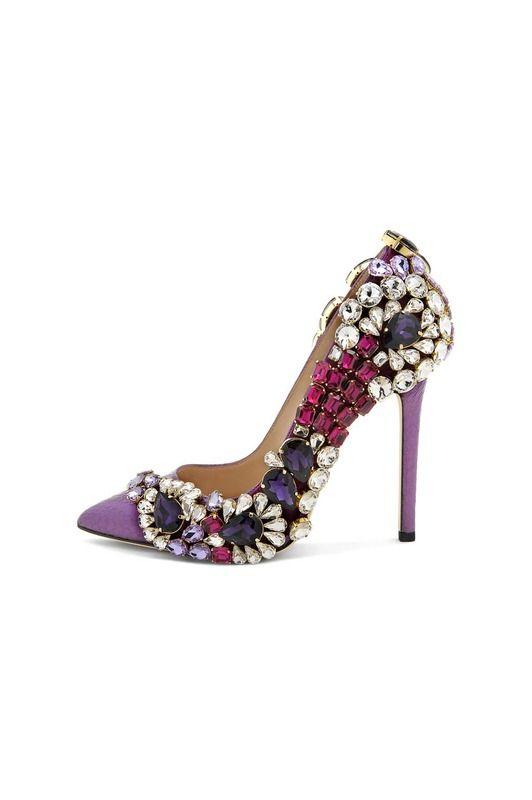 7a037f42 Bling bling | Complementos | Zapatos pump, Zapatos bonitos y Zapatos ...