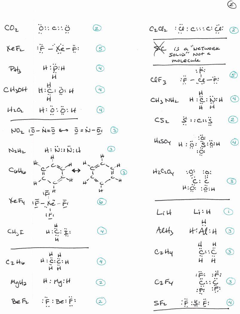Lewis Dot Structure Practice Worksheet Unique La Quinta High School In 2020 Chemistry Worksheets Practices Worksheets Writing Practice Worksheets