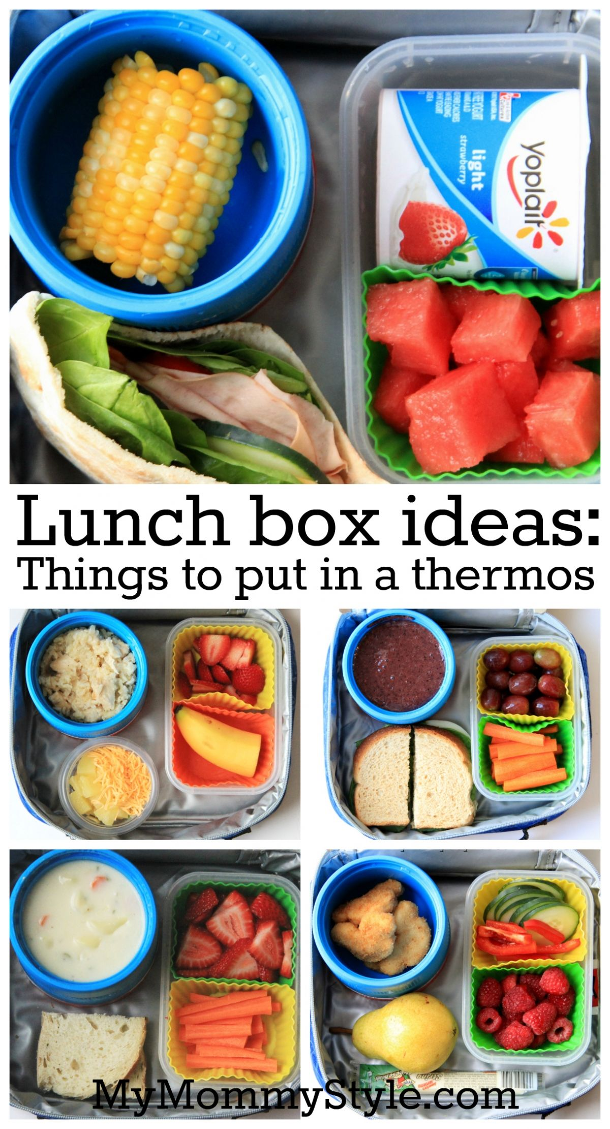 Lunch box ideas things to put in a thermos lunch ideas for Lunch food ideas