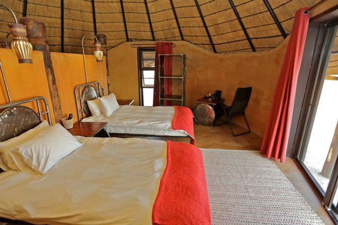 Namibia is full of hidden treasures and Ongula Village Homestead Lodge near Ondangwa is one such treasure. The lodge is nestled next to a traditional Owambo homestead and offers the unique opportunity to experience life in traditional northern Namibia.
