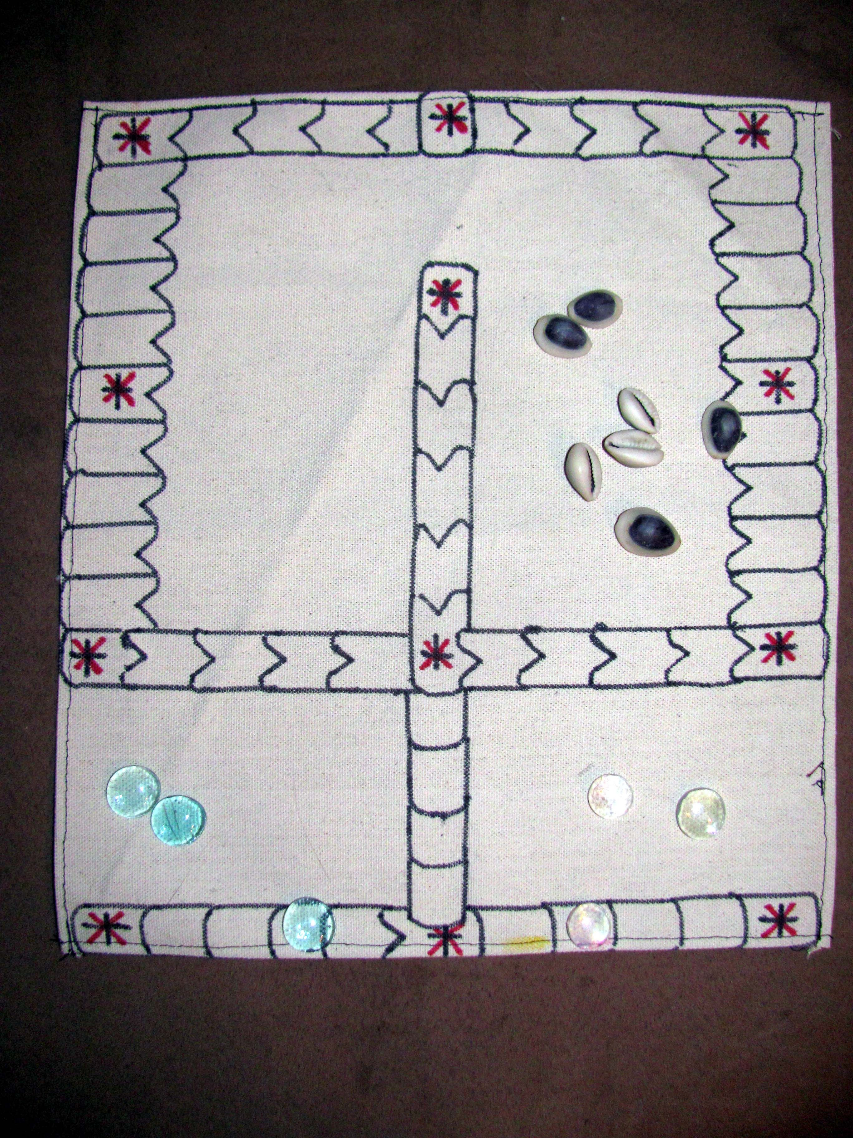 Panchi Traditional Games Family Games Kids Rugs