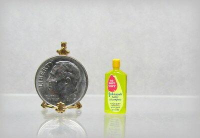 Miniature Dollhouse Bottle of Baby Shampoo