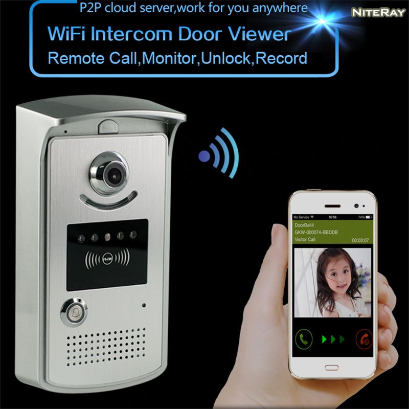 Superior Digital Peephole Wifi Wireless Lock Release Door Access Electronic Lock  Opening System Home Apartment Doorbell Wifi