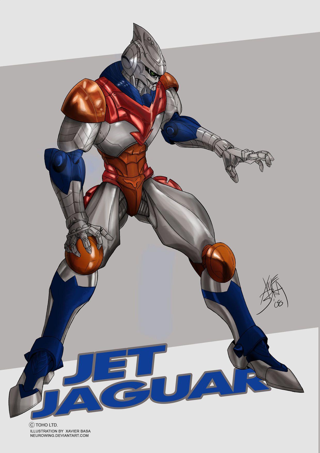 Jet Jaguar by neurowing | Godzilla in 2019 | Godzilla ...