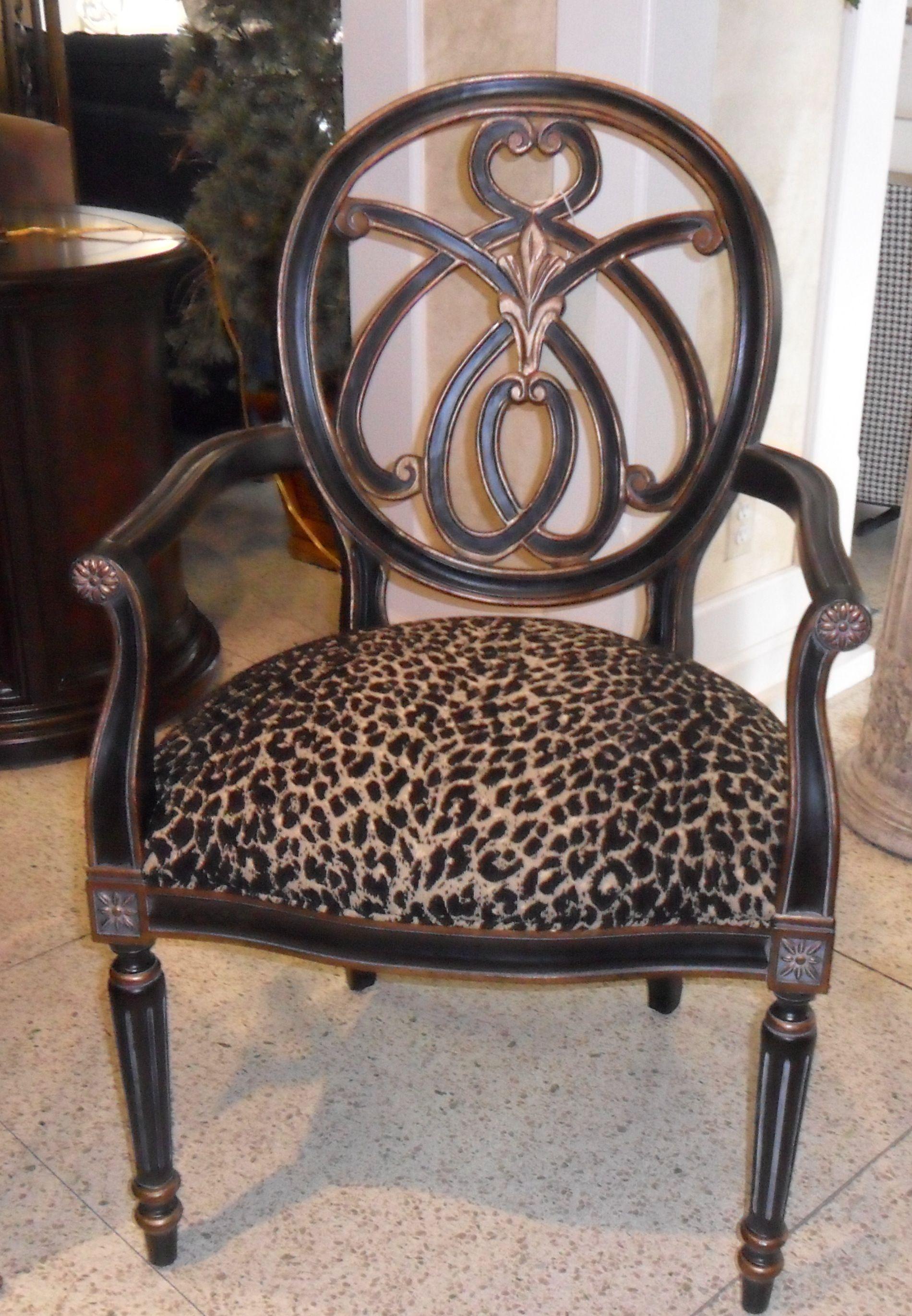 leopard print chair | Furniture | Animal print furniture ...