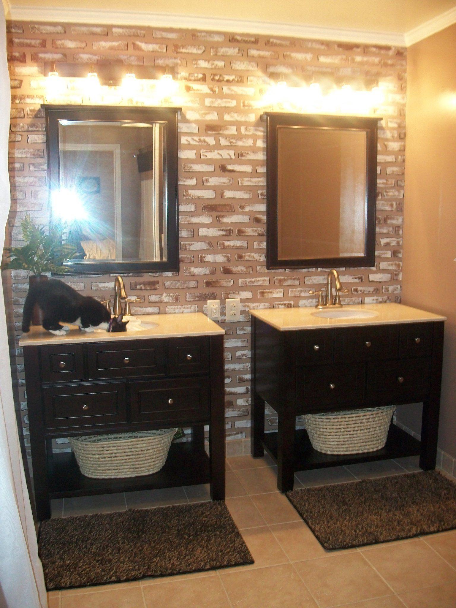 Two Vanities Side By Side Bathroom Ideas Pinterest