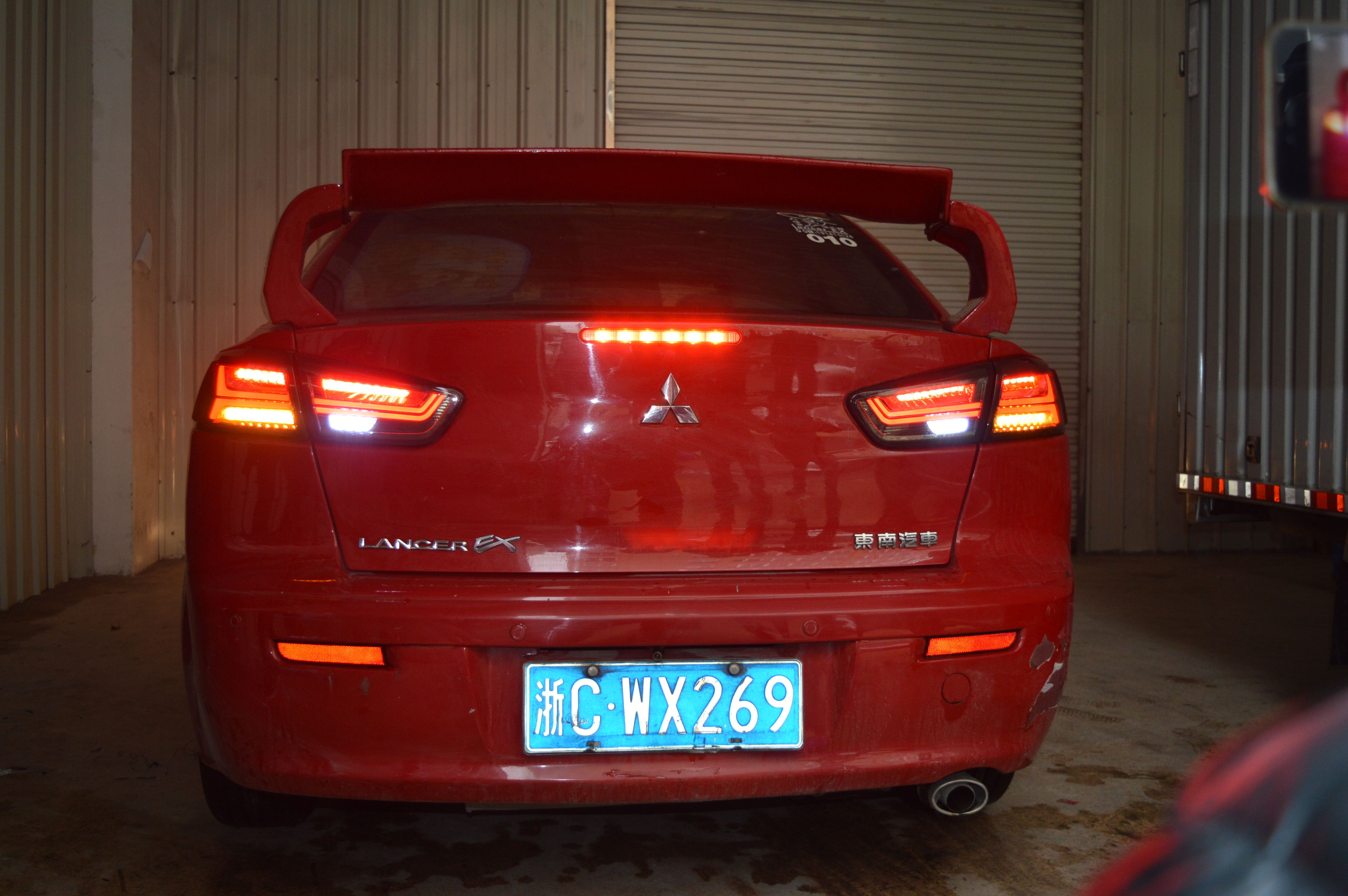 Vland Wholesales Factory Manufacturer Sequential 10 Up Mitsubishi Lancer Led Tail Light The Picture Is Vland Mi Led Tail Lights Tail Light Wholesale Factory