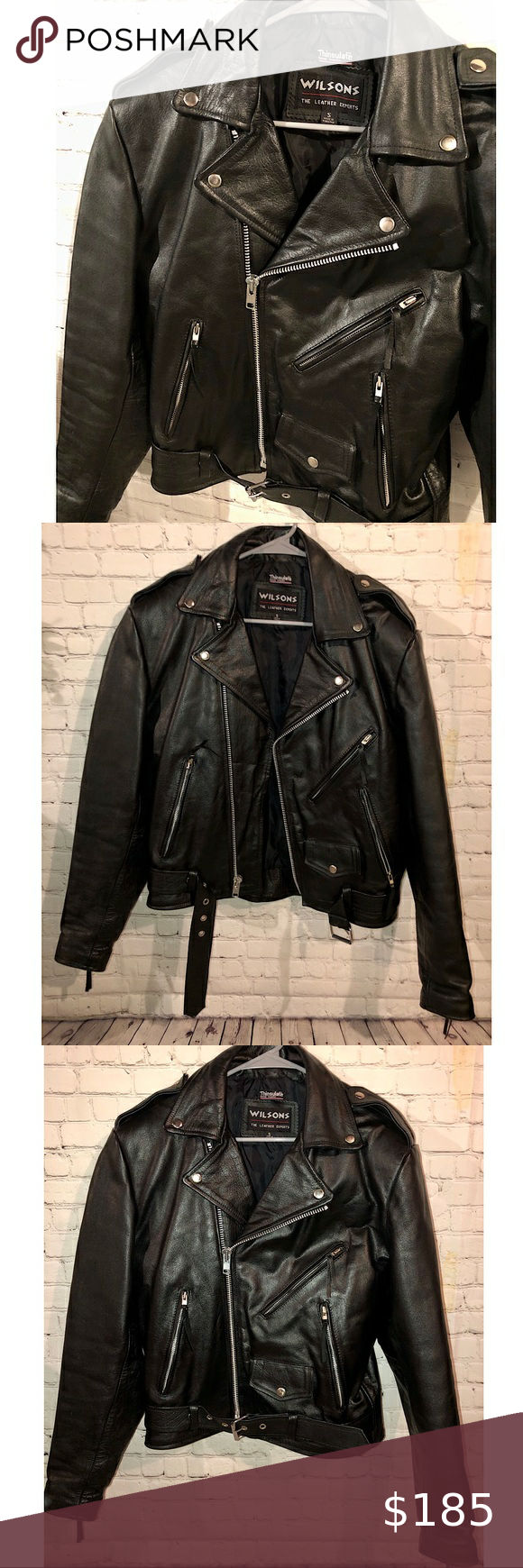 Wilsons Leather Motorcycle Jacket in 2020 Wilsons