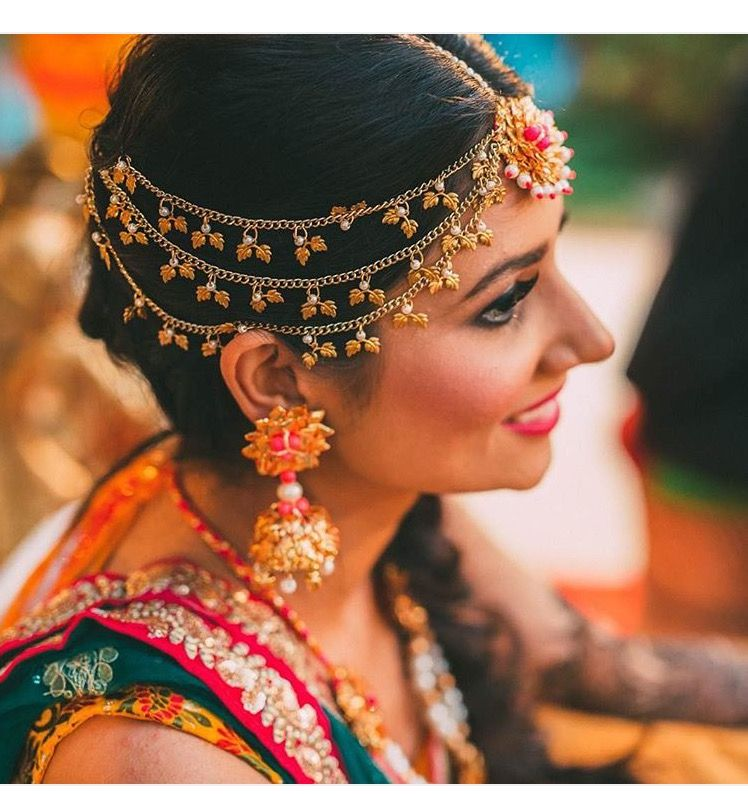 Bridal Headpiece Indian Jewellery Bride Wedding Photography