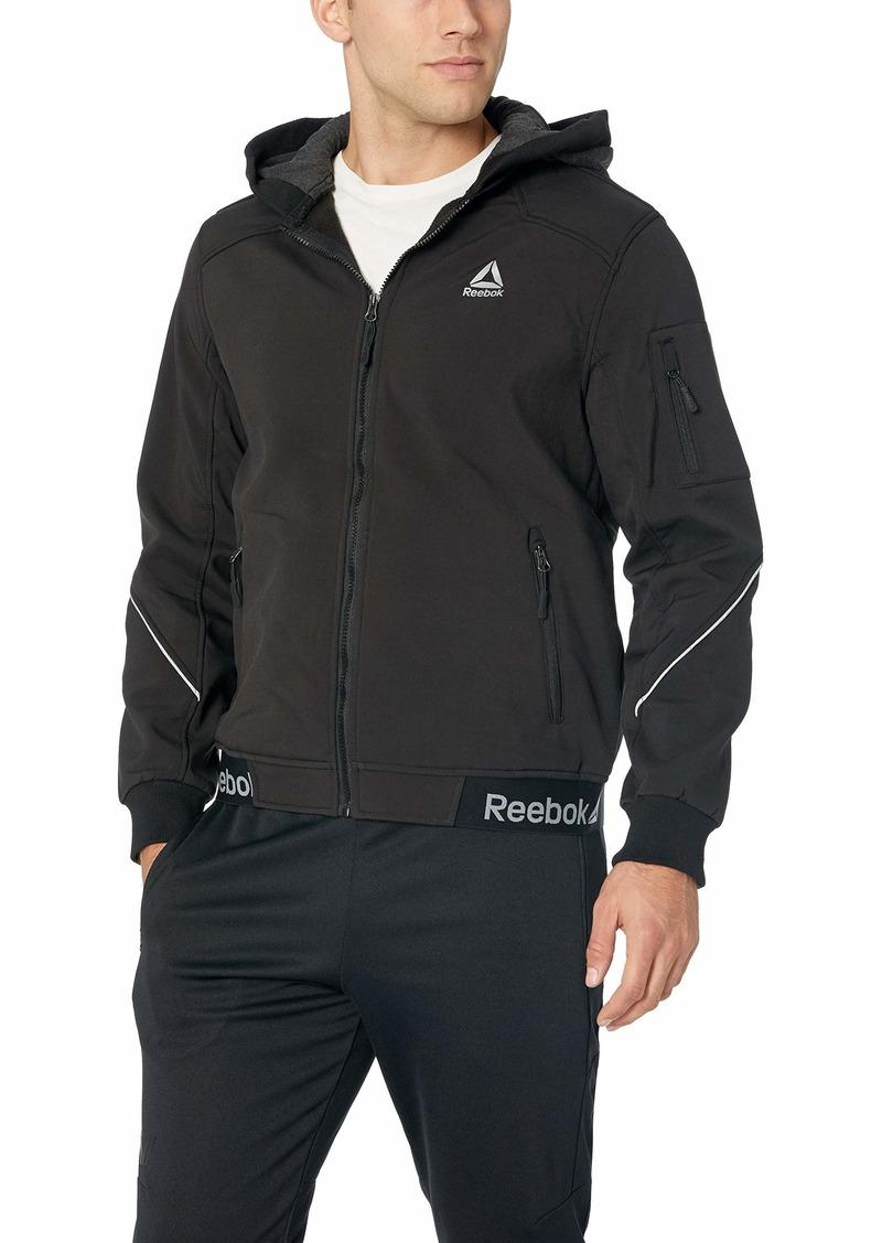 Reebok Men S Softshell Active Jacket Reebok Men S Softshell Active Jacket Shopinzar Com Active Jacket Distressed Leather Jacket Faux Leather Bomber Jacket [ 1127 x 800 Pixel ]