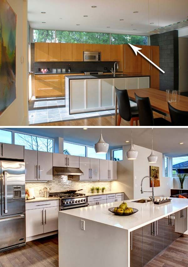 Many Kitchens Had To Face That Awkward Space Between The Top Of Kitchen Cabinets And Ceiling How Use It Keep Neat Appearance