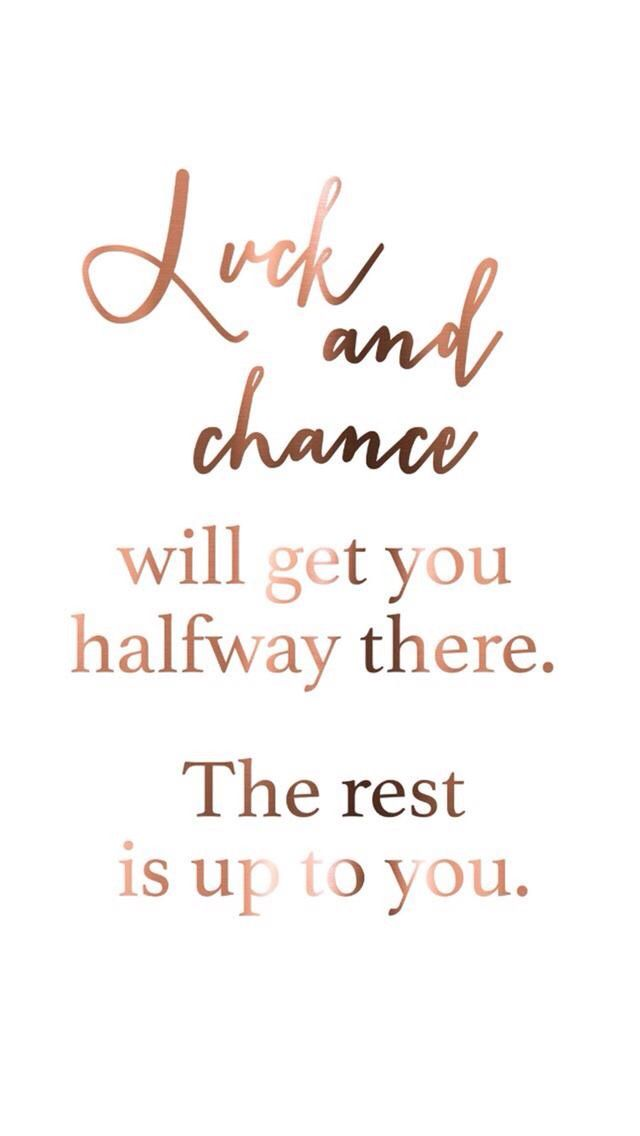 Inspirational Quote Red On Pinterest: Quotes, Rose Gold Quotes