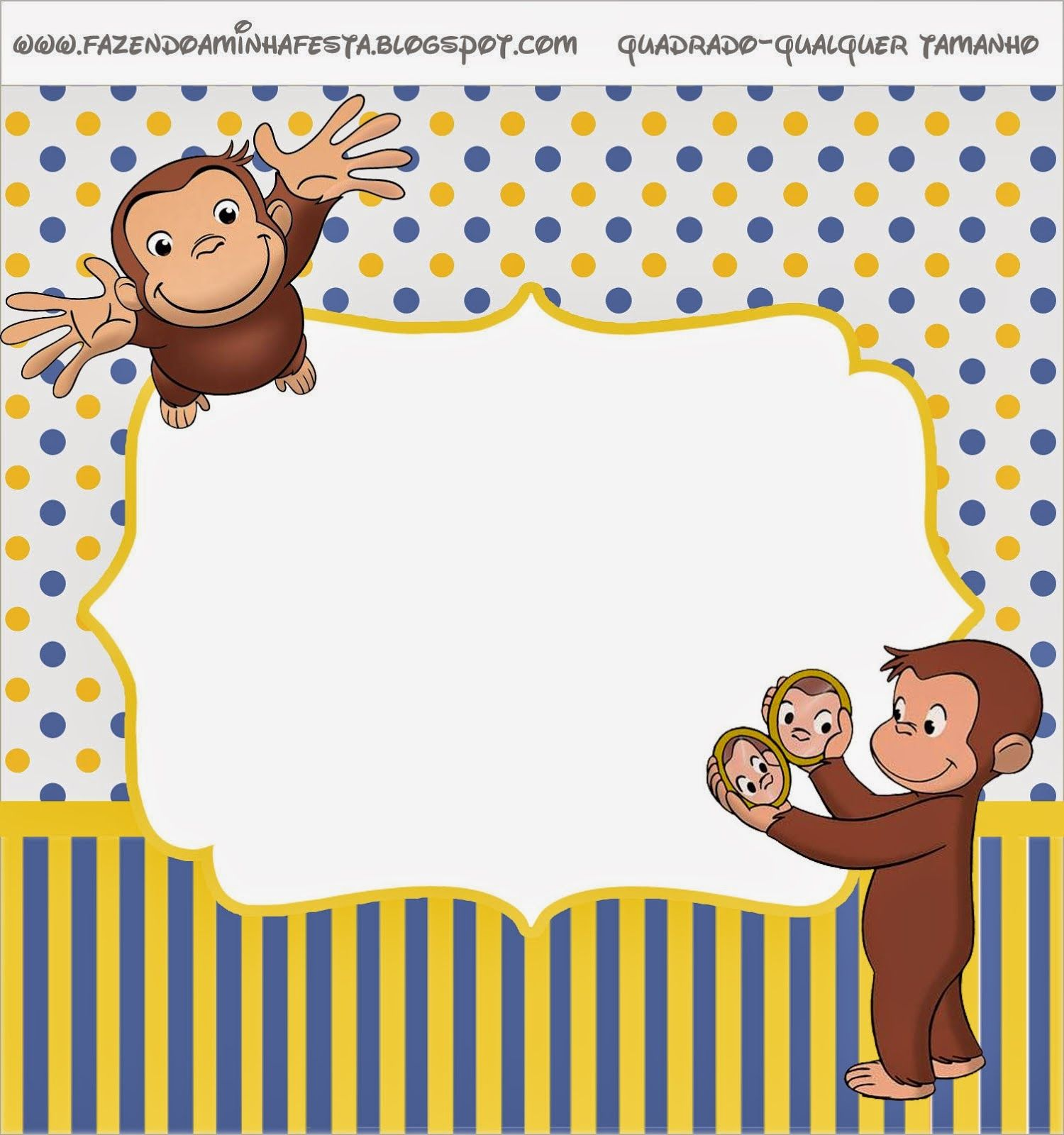Curious George Free Printable Candy Bar Labels. | Blake\'s 2nd ...