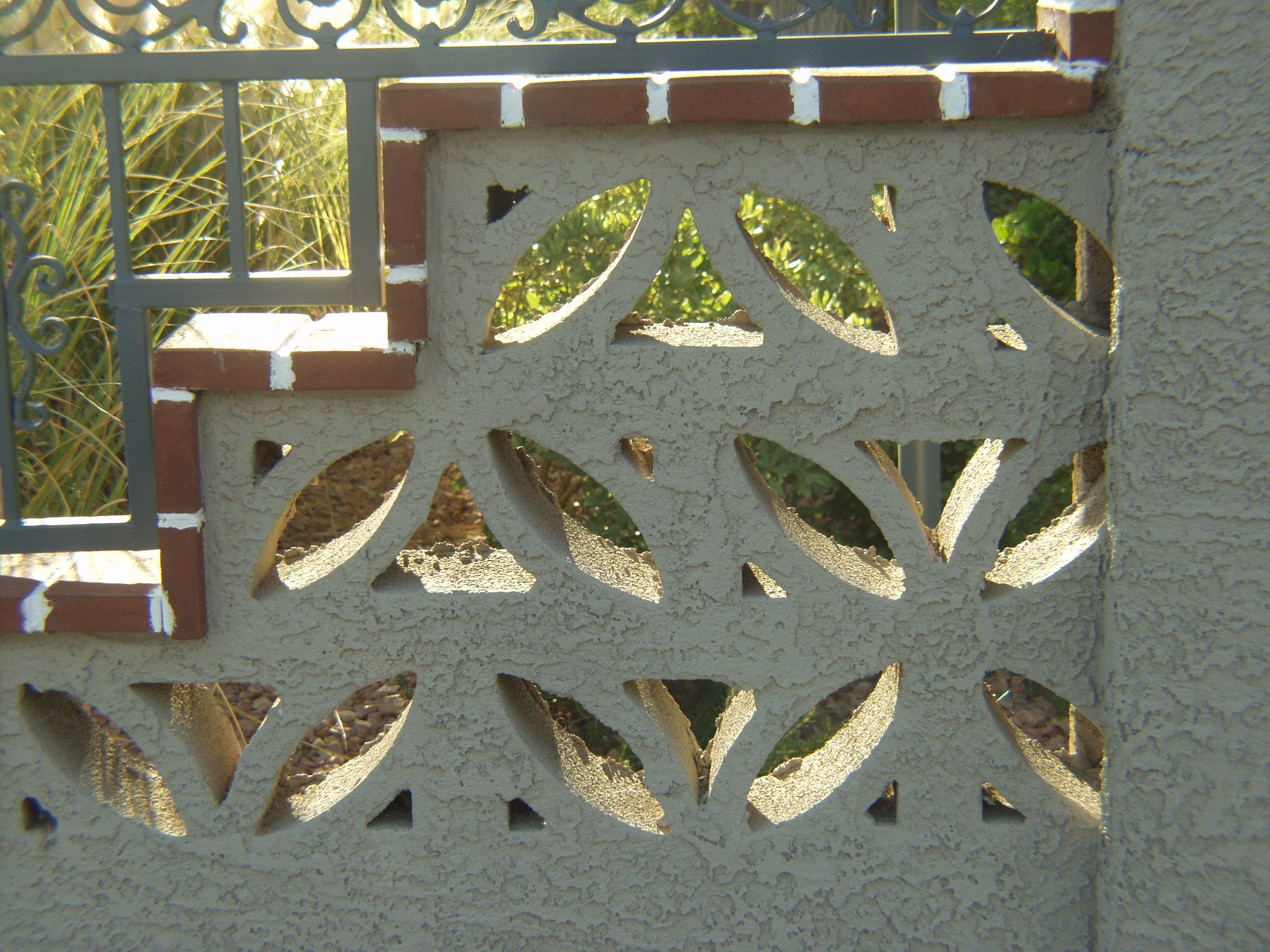 screen block palms paradise for the decorative of sale concrete architecture img blocks decor