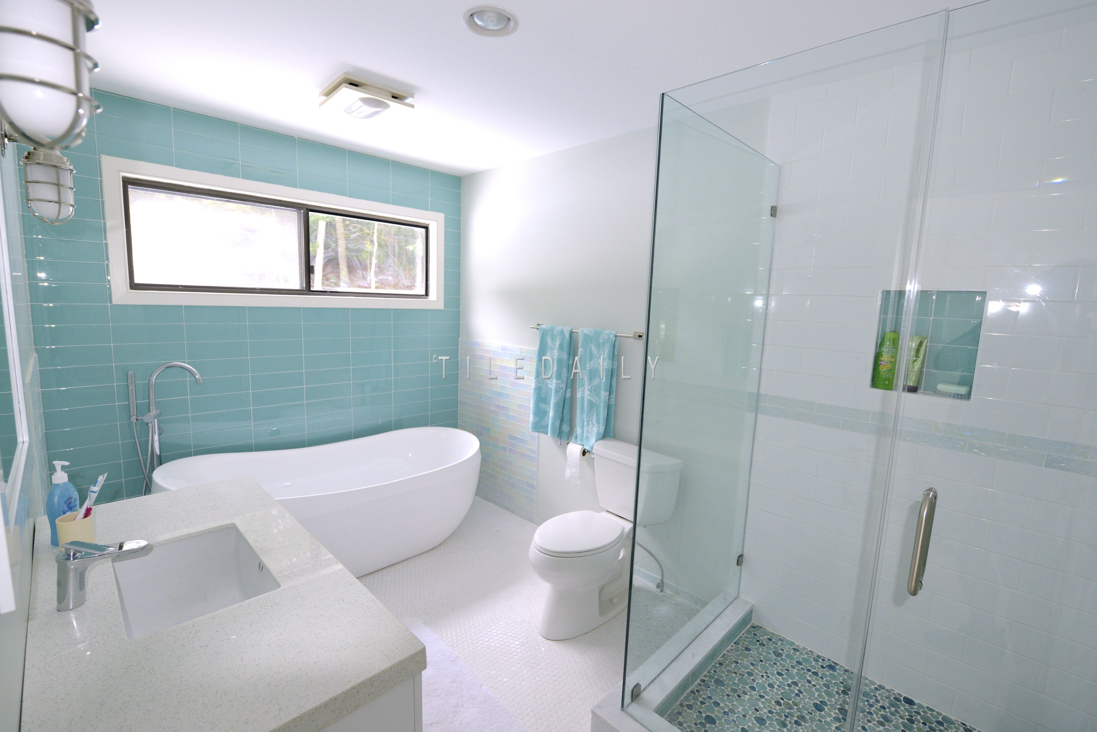 Glass Subway Tile, 3x12 | Coastal, Commercial and Walls