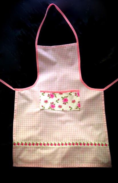 ikea hack kids apron made from ikea evalill tea towels