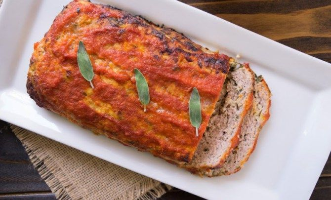 Pork Meatloaf with Apples and Sage Recipe - Relish