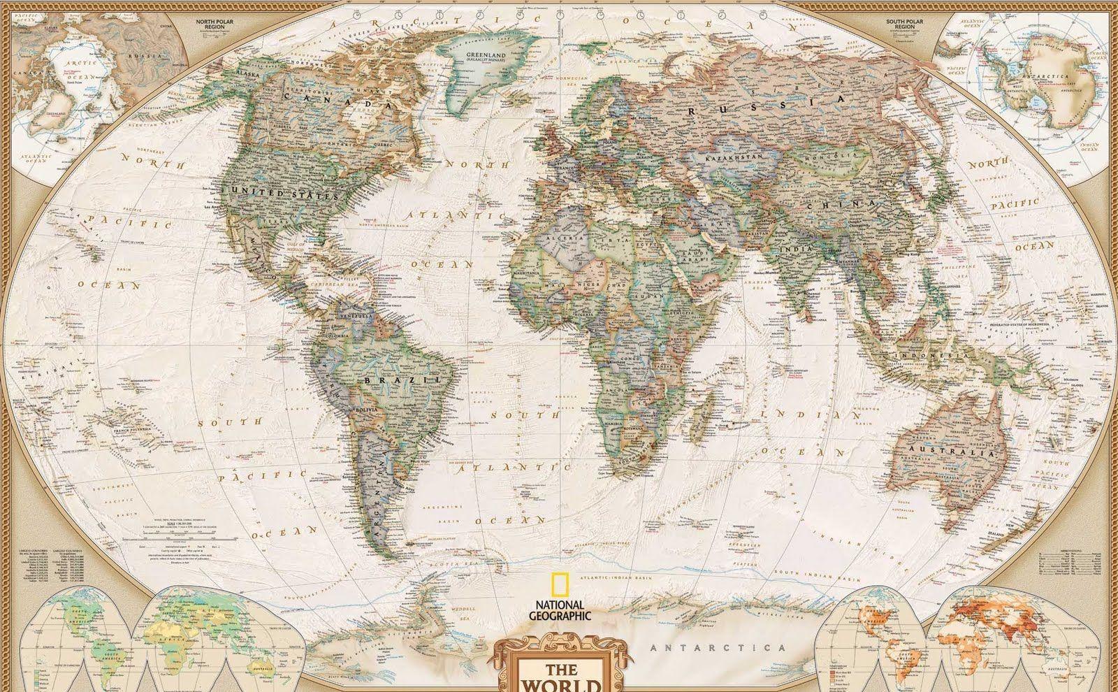 Mapamundi antiguo BLANCO Y NEGRO  Imagui  Proyectos que intentar
