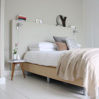 Testiera in muratura nel 2019 | Decorazione camera da letto ...