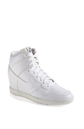 newest 4b7d2 8dd36 Nike  Dunk Sky Hi  Wedge Sneaker (Women) available at  Nordstrom