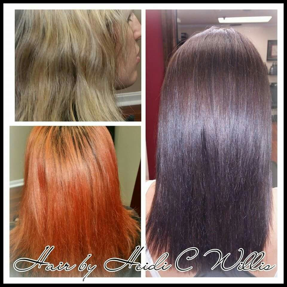 Color Correction Color Filling Hair By Heidi C Willis