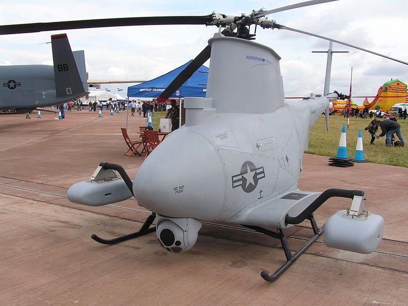 MQ-8B Fire Scout at the Royal International Air Tattoo