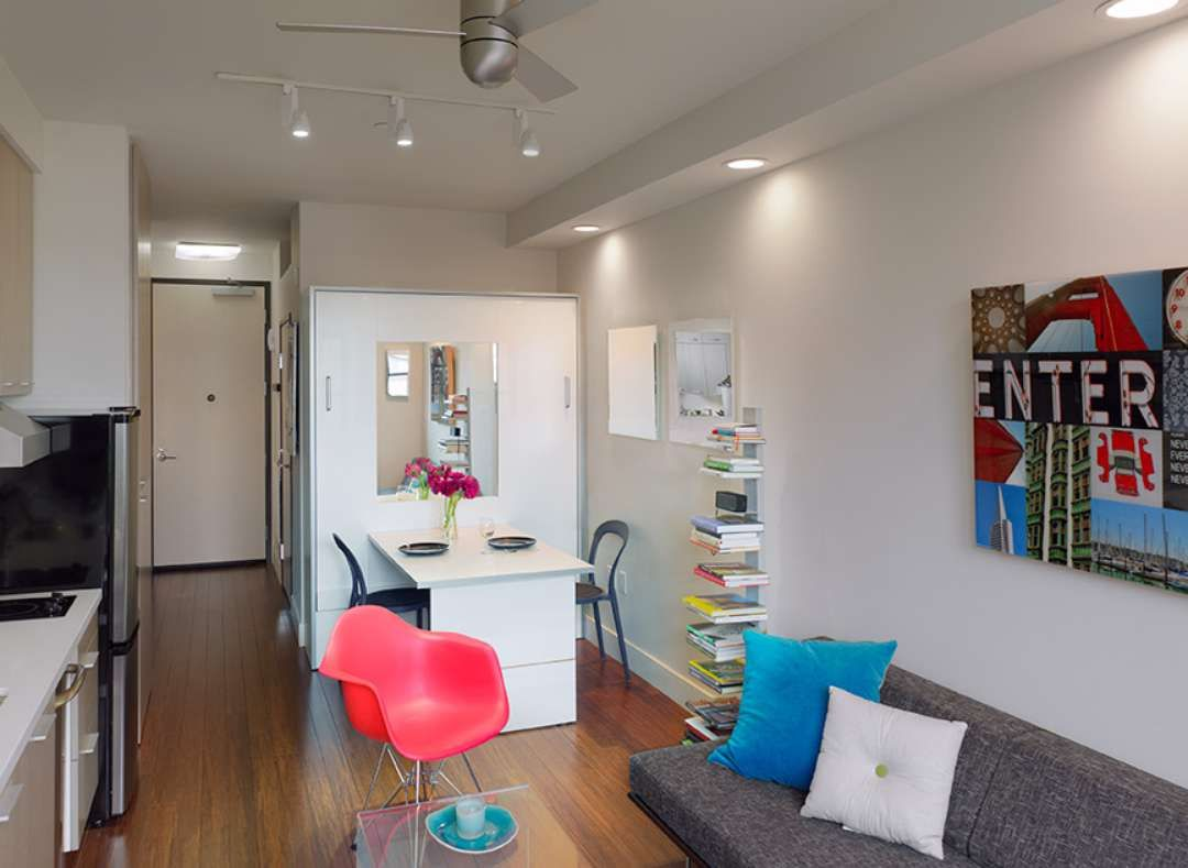 Best Living Room Ever Best Dorm Room Ever A Peek Inside San Francisco's New Tiny