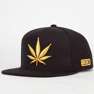 Dgk Chronic Mens Snapback Hat Black One Size For Men 23284410001 (bestseller)