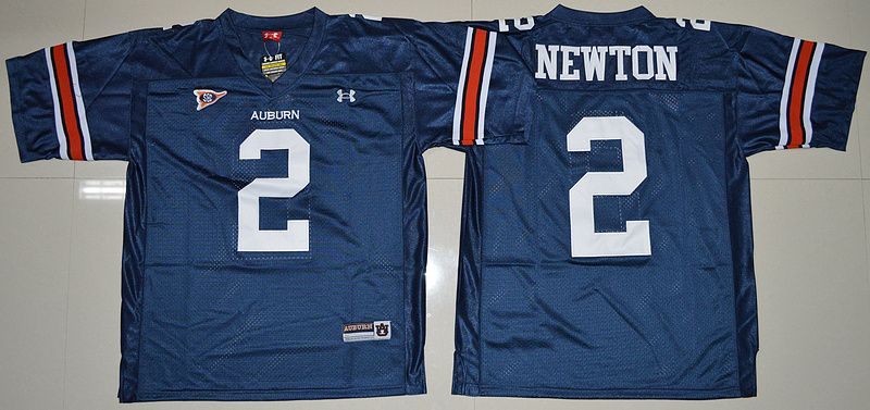 Under Armour Auburn Tigers Cameron Newton 2 College Football Jersey - Navy  Blue 2d60fe9ee