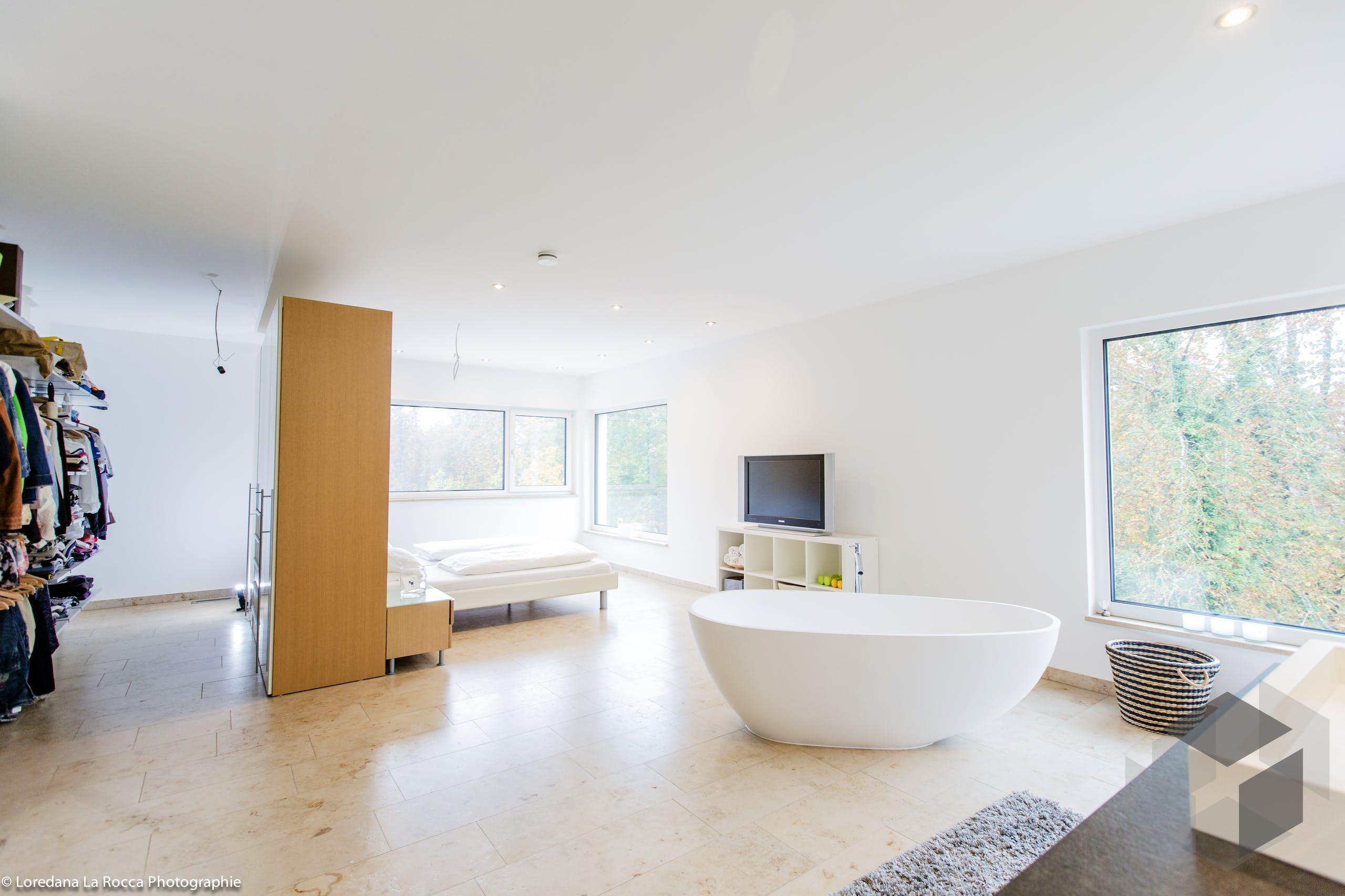 Badewanne Schlafzimmer