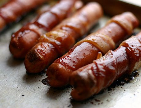 Bacon-Wrapped California Hot Dogs | Babble