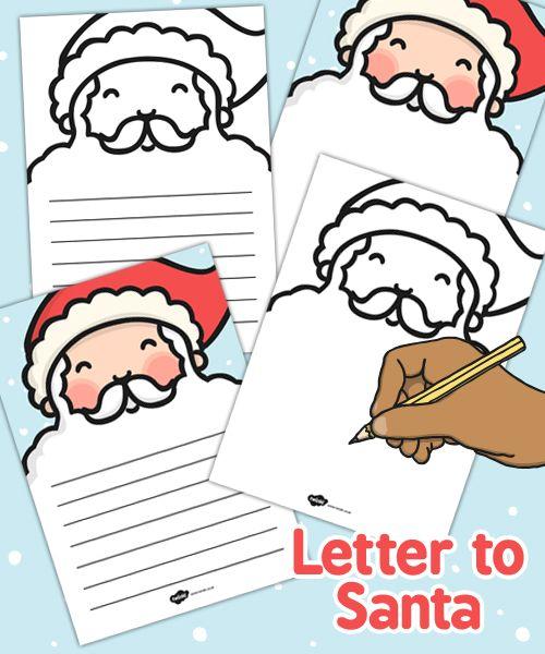 Santas beard letter writing template twinkl kid ideas santas beard letter writing template twinkl spiritdancerdesigns Images