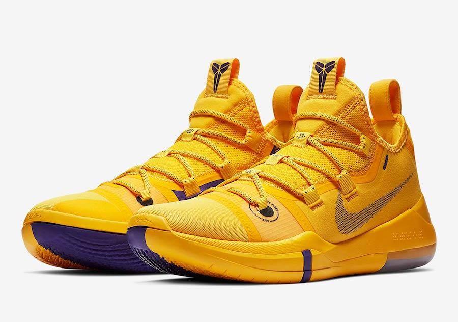 Kobe AD Lakers Amarillo in 2020 | New