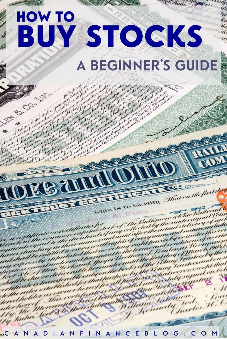 How to Buy Stocks A Beginner's Guide to Buying Stocks