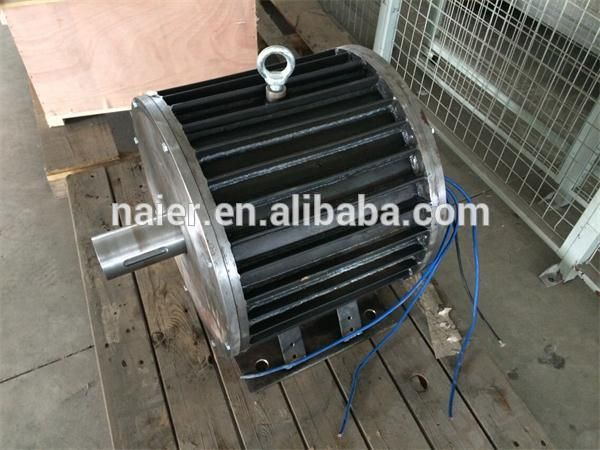 Ce approved 30kw 220 380 420v permanent magnet generator for Magnetic motor electric generator for sale
