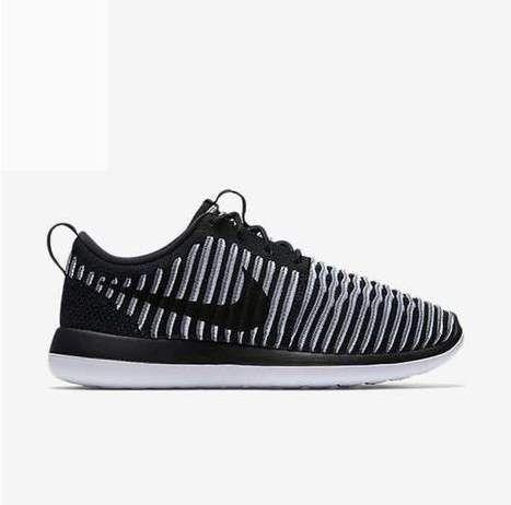 Nike Roshe Run Two [rosherun Flyknit Black White [rosherun Two 060] 82103e
