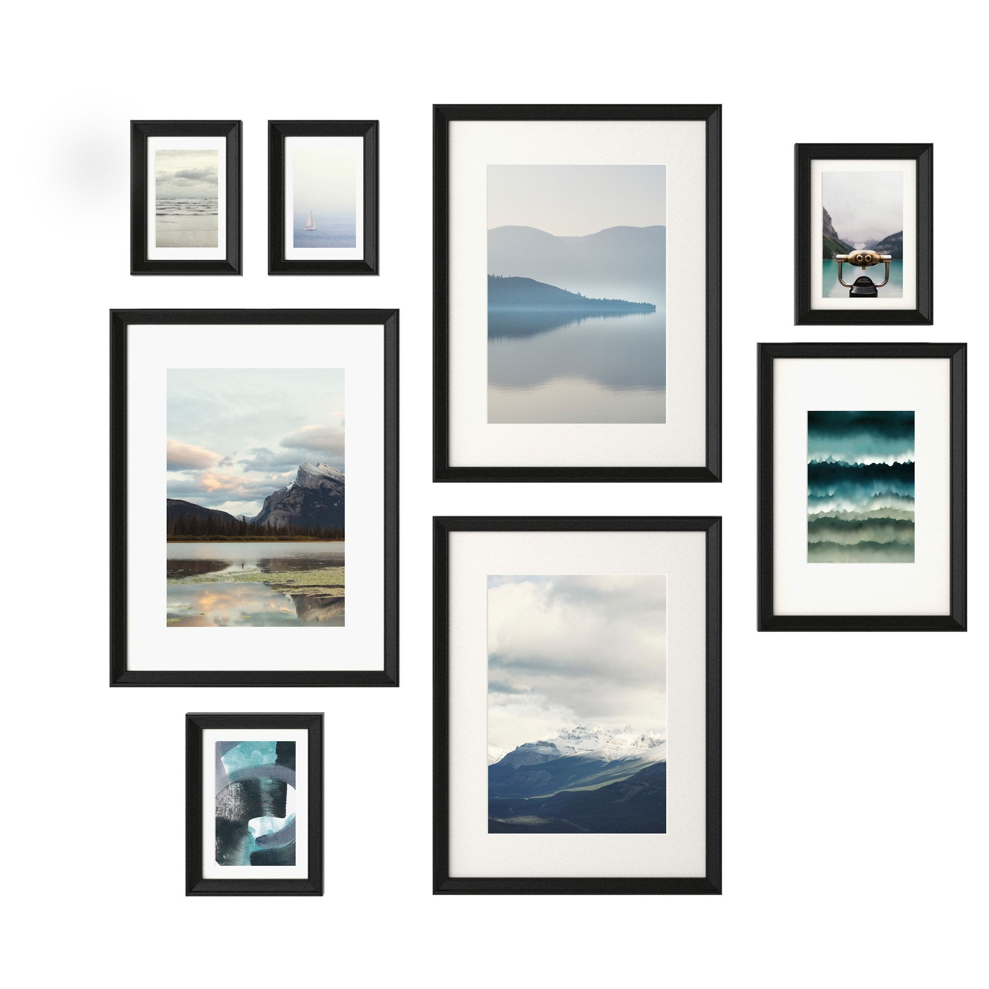 knopp ng cadre avec image 8 pi ces noir 31st bday pinterest cadres ikea et pi ce. Black Bedroom Furniture Sets. Home Design Ideas