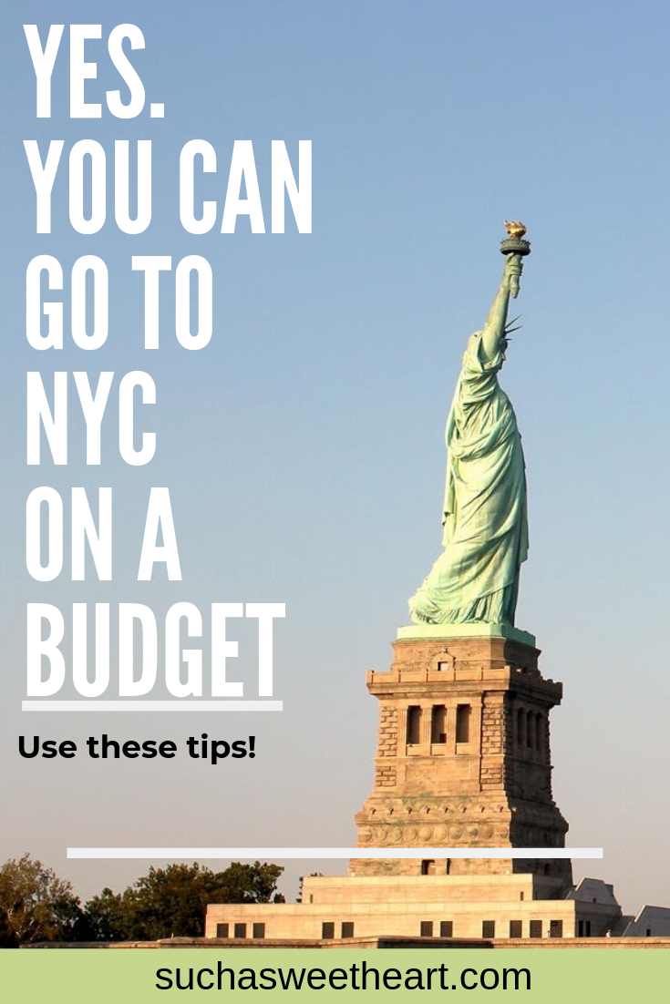 How to Travel to NYC on a Budget 2019 | Best of Such A
