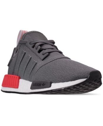 adidas nmd r1 grey four white maroon