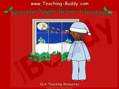 Twas The Night Before Christmas Christmas Teaching Resources The Night Before Christmas Twas The Night