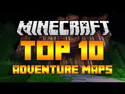 Top 10 Minecraft Adventure Maps (Minecraft 1.9/1.8.9) - 2016 [HD ...