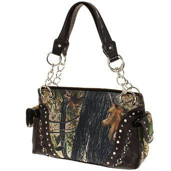 Amazon.com: Canvas Camo Satchel Purse Camouflage B ($39.99)