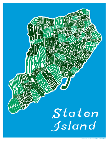 Staten Island Neighborhood Type Map Staten island and Staten