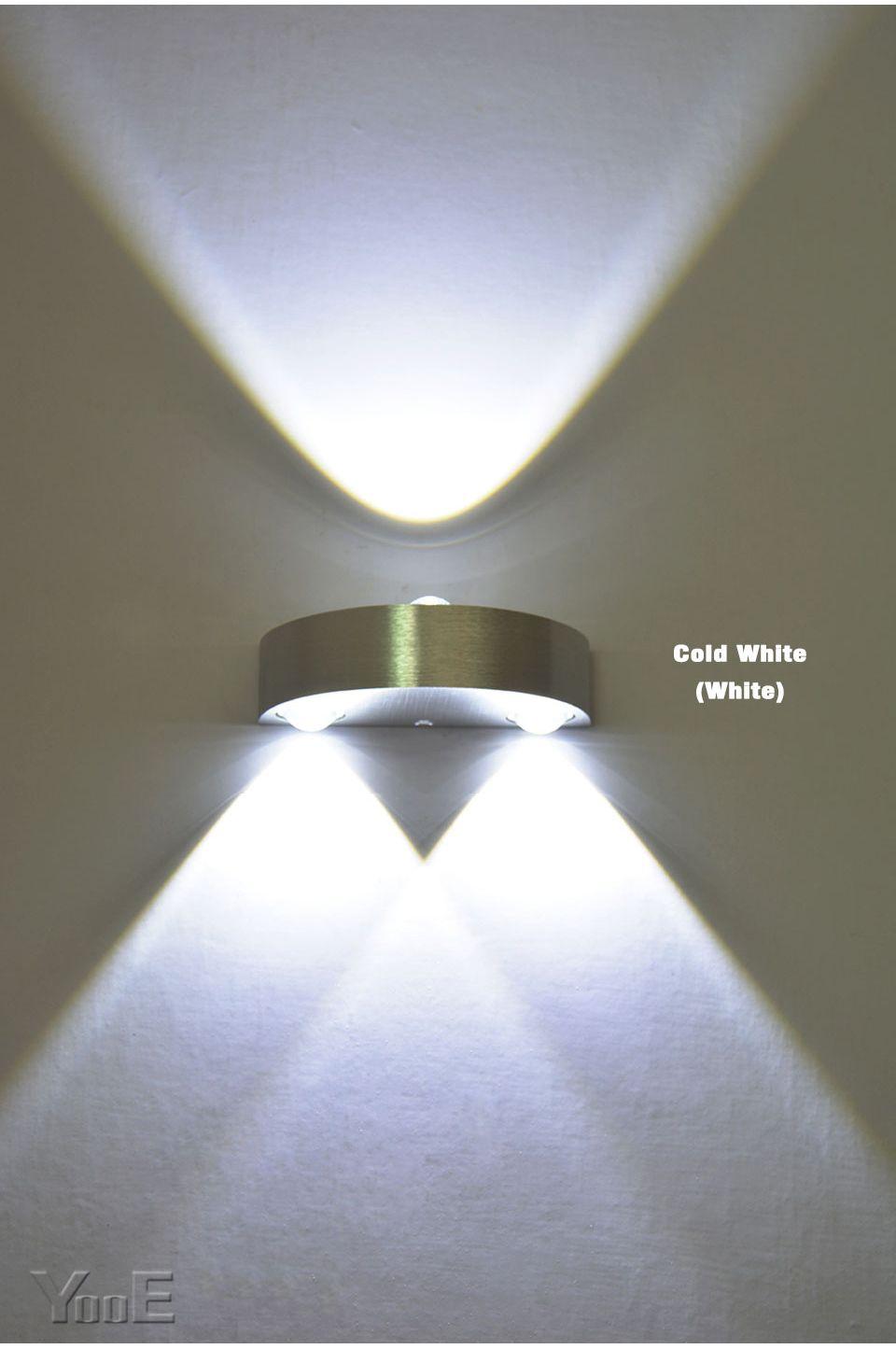 Indoor 3 W Lampada Da Parete A LED AC110V/220 V Decorare camera da ...