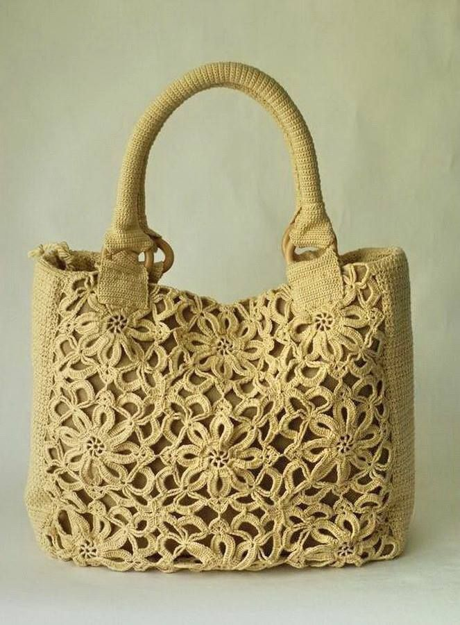 Pin von Lady Brana auf Bags | Pinterest | Häkeltasche, Stricktaschen ...