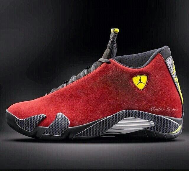 new product cf8fc a750b Jordan 14 Red, black. Sickening