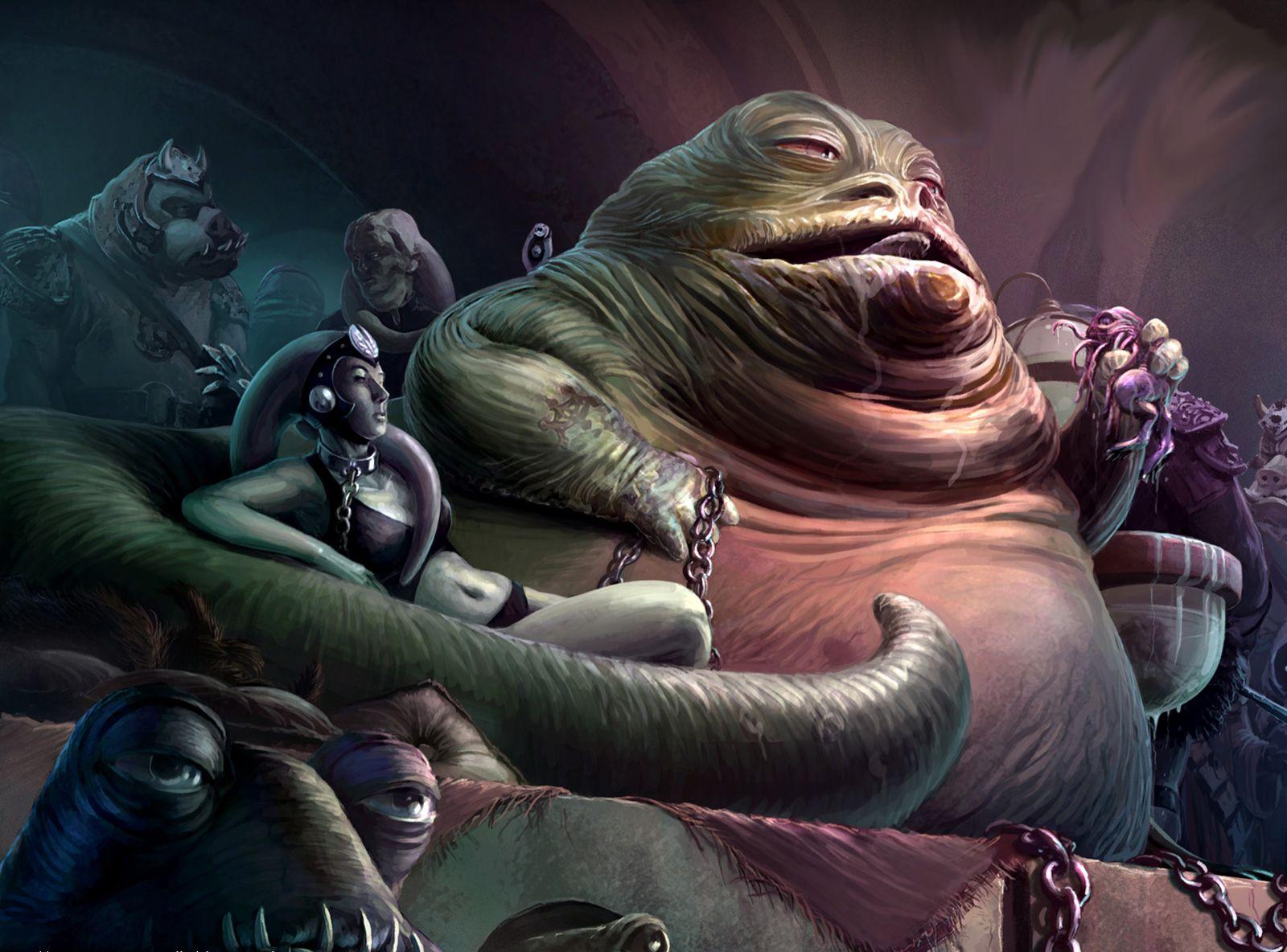 Jabba The Hutt Fucks Princess Leia Good jabba the hutt & co.   star wars   pinterest   star, star wars art